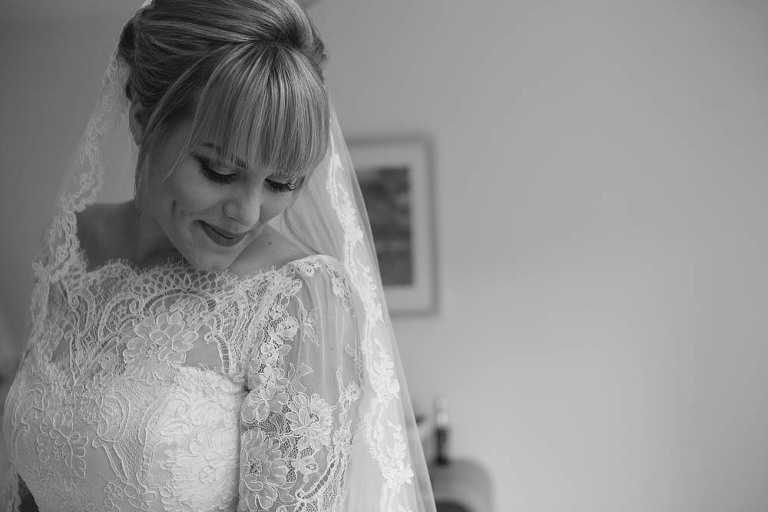 bride getting ready stroud gloucestershire